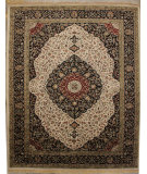 RugStudio presents ORG Ovations St-7 Beige/Black Hand-Tufted, Best Quality Area Rug