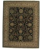 RugStudio presents ORG Nuance P43 Black-Beige Hand-Knotted, Best Quality Area Rug
