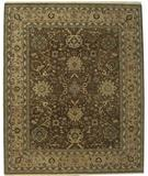 RugStudio presents ORG Nuance P43 Chocolate-Beige Hand-Knotted, Best Quality Area Rug