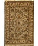 RugStudio presents ORG Nuance P43 Light Blue-Beige Hand-Knotted, Best Quality Area Rug