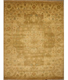 RugStudio presents ORG Indo-Peshawar D-122 Light Brown Hand-Knotted, Good Quality Area Rug
