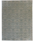 RugStudio presents ORG Angura 851 Beige/Sage Hand-Knotted, Good Quality Area Rug