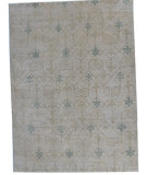 RugStudio presents ORG Angura 856 Beige/Multi Hand-Knotted, Good Quality Area Rug