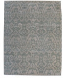 RugStudio presents ORG Angura 858 Sage/Beige Hand-Knotted, Good Quality Area Rug