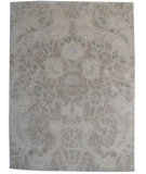 RugStudio presents ORG Tibetan Weave 455 Beige/Multi Hand-Knotted, Good Quality Area Rug