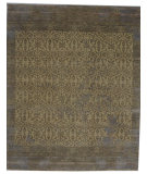 RugStudio presents Org Vintage 766 Beige/Gray Hand-Knotted, Good Quality Area Rug
