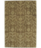 RugStudio presents ORG Ikat-Tufted ST-505 Brown Hand-Tufted, Best Quality Area Rug