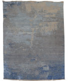 RugStudio presents Org Dazzle Dn(hsv)-1 Silver Sand Hand-Knotted, Good Quality Area Rug