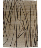 RugStudio presents Org Impression Dk-38 Beige Hand-Knotted, Good Quality Area Rug