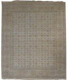 RugStudio presents Org Ottoman Cf-46 Mushroom Hand-Knotted, Good Quality Area Rug