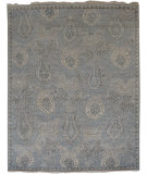 RugStudio presents Org Ottoman Ch-21a Silver Sand Hand-Knotted, Good Quality Area Rug