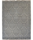 RugStudio presents Org Ottoman Ch-22 Mushroom/Light Gray Hand-Knotted, Good Quality Area Rug