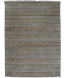 RugStudio presents Org Pearl Fg(hs)-1 Silver Sand Hand-Knotted, Good Quality Area Rug