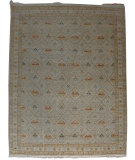 RugStudio presents Org Persia Qa-2 Mushroom Hand-Knotted, Good Quality Area Rug