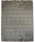 RugStudio presents Org Venna Dq-26 Silver Sand Hand-Knotted, Good Quality Area Rug