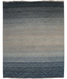 RugStudio presents Org Venna Dq-38 Slate Gray Hand-Knotted, Good Quality Area Rug