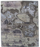 RugStudio presents ORG Synthesis Abstract D4 Multi Hand-Knotted, Best Quality Area Rug