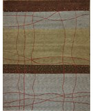 RugStudio presents ORG Tibetan Weave 405 (80 Knot) Sage Hand-Knotted, Good Quality Area Rug