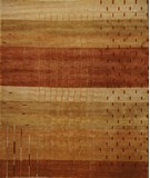 RugStudio presents ORG Tibetan Weave D-005 (80 Knot) Beige Hand-Knotted, Good Quality Area Rug