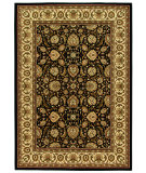 RugStudio presents Orian American Heirloom Farran black Machine Woven, Better Quality Area Rug