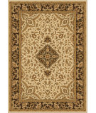 RugStudio presents Orian American Heirloom Avalon 1203 Gold / Cream / Beige Machine Woven, Good Quality Area Rug