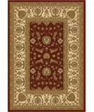 RugStudio presents Orian American Heirloom 1207 Claret Machine Woven, Good Quality Area Rug