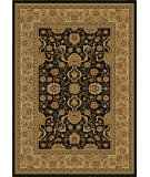 RugStudio presents Orian American Heirloom 1208 Black Machine Woven, Good Quality Area Rug