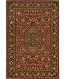 RugStudio presents Orian American Heirloom Callaway 1215 Claret Machine Woven, Better Quality Area Rug