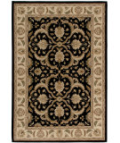 RugStudio presents Orian American Heirloom Hilary 1213 Black Machine Woven, Better Quality Area Rug