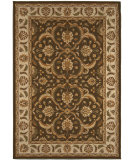 RugStudio presents Orian American Heirloom Hilary 1212 Chocolate Machine Woven, Better Quality Area Rug