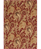 RugStudio presents Orian American Heirloom Kashmir 1226 Claret Machine Woven, Better Quality Area Rug
