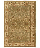 RugStudio presents Orian American Heirloom Mahal 1211 Green Tea Machine Woven, Better Quality Area Rug