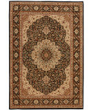 RugStudio presents Orian American Heirloom Osteen 1228 Black Machine Woven, Better Quality Area Rug