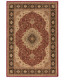 RugStudio presents Orian American Heirloom Osteen 1229 Claret Machine Woven, Better Quality Area Rug