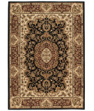 RugStudio presents Orian American Heirloom Walbridge 1220 Black Machine Woven, Better Quality Area Rug