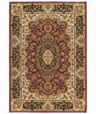 RugStudio presents Orian American Heirloom Walbridge 1221 Claret Machine Woven, Better Quality Area Rug