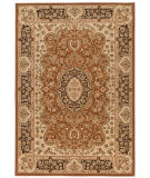 RugStudio presents Orian American Heirloom Walbridge 1219 Leather Machine Woven, Better Quality Area Rug