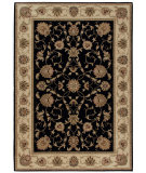 RugStudio presents Orian American Heirloom Westbury 1222 Black Machine Woven, Better Quality Area Rug