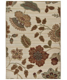 RugStudio presents Orian Anthology Cimarron White Beige Machine Woven, Good Quality Area Rug