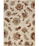 RugStudio presents Orian Anthology Frazier Beige White Machine Woven, Good Quality Area Rug