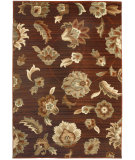 RugStudio presents Orian Anthology Frazier Brown Red Machine Woven, Good Quality Area Rug