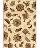 RugStudio presents Orian Anthology Frazier 1402 Gold / Cream / Beige Machine Woven, Good Quality Area Rug