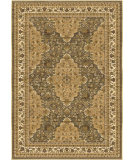 RugStudio presents Orian Anthology Divinia 1407 Green Machine Woven, Good Quality Area Rug