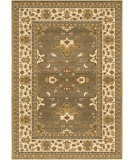 RugStudio presents Orian Anthology 1409 Blue Green Machine Woven, Good Quality Area Rug