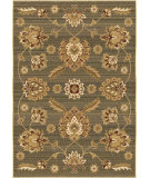 RugStudio presents Orian Anthology 1412 Blue Green Machine Woven, Good Quality Area Rug