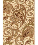 RugStudio presents Orian Anthology Windsor 1424 Gold / Cream / Beige Machine Woven, Good Quality Area Rug