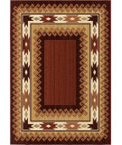 RugStudio presents Orian Anthology Durango 1426 Red / Burgundy Machine Woven, Good Quality Area Rug