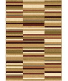RugStudio presents Orian Anthology Hurley 1427 Gold / Cream / Beige Machine Woven, Good Quality Area Rug