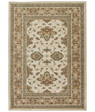 RugStudio presents Orian Anthology Bazine 1411 Beige White Machine Woven, Good Quality Area Rug