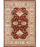 RugStudio presents Orian Anthology Bazine 1413 Rust Red Machine Woven, Good Quality Area Rug